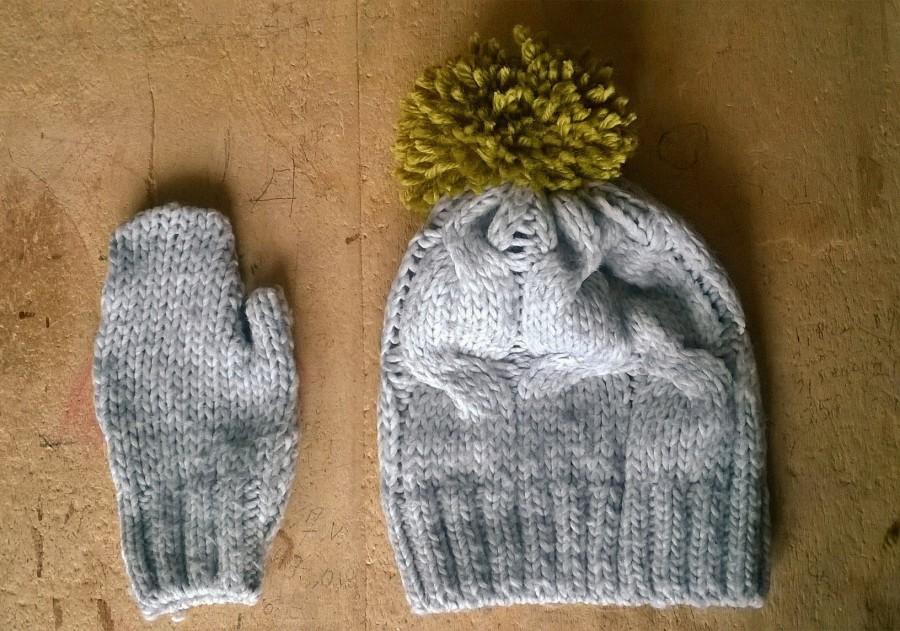 Come realizzare (da un vecchio maglione) guanti ecappello